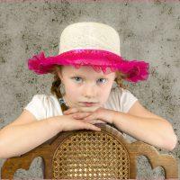 Girl In Pink Hat - Barbara Tricarico